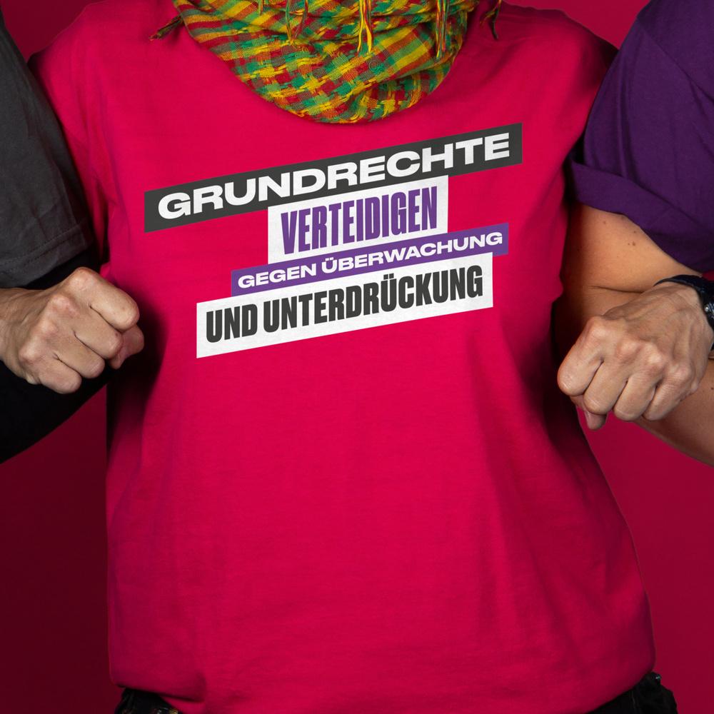 Grundrechte verteidigen! Gegen Überwachung und Unterdrückung!